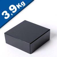 Blocco magnetico  15 x  15 x  5mm Neodimio N45, Epossido - forza 3,9 kg