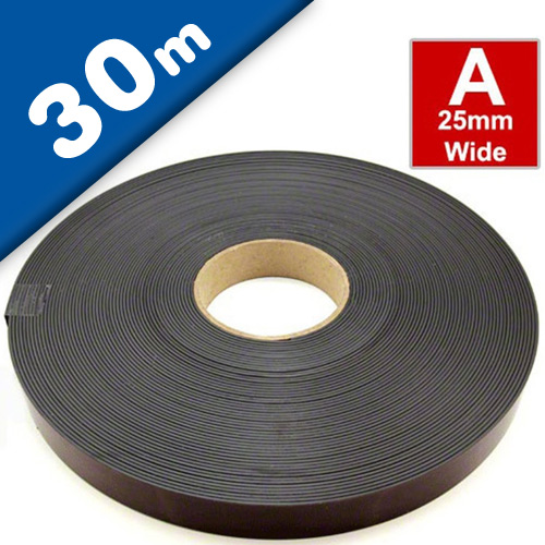 Self Adhesive Magnetic Tape Magnet Strip A 1,5mm x 25,4mm x 30m