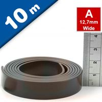 Self Adhesive Magnetic Tape Magnet Strip A 1.5mm x 12,7mm x 10m