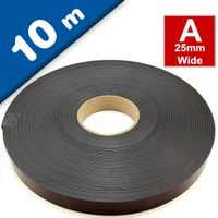 Self Adhesive Magnetic Tape Magnet Strip A 1,5mm x 25,4mm x 10m