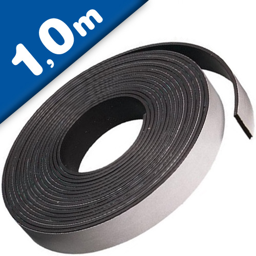 Self Adhesive Power Magnetic Tape Strip anisotropic 3.2mm x 24.5mm x  1m