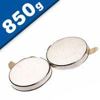 Disc Magnet self-adhesive Ø 13 x  1mm Neodymium N35 – pull 850 g
