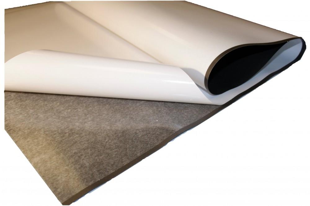 Eisenfolie Ferrofolie Selbstklebend Roh Braun 0 4mm X 0 62m X 1m