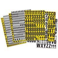Números magnéticos, números 0-9 caracteres especiales, 43mm de altura