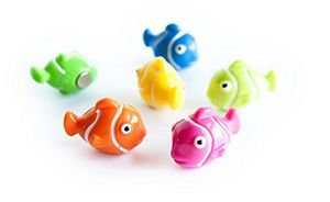 Assorted Animal Style Office Magnets Clown Fish Nemo measure 25mm x 15mm x 19mm