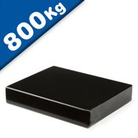 Block Magnet 111 x 89 x 20mm Neodymium N45 (Rare Earth), Epoxy - pull 800 kg