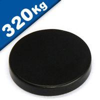 Scheibenmagnet / Rundmagnet Ø 80x20mm – Neodym N45 (NdFeB) Epoxid - hält 320 kg