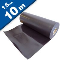 Plain magnetic sheet brown 1,5mm x 0,62m x 10m