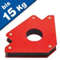 Magnetwinkel / Magnet Schweisswinkel, Schweißmagnet - 10 bis 15kg Haltekraft