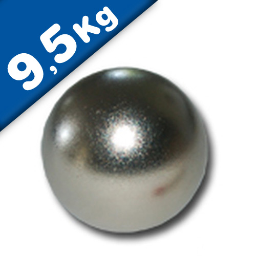 Magnetic Ball, Sphere Magnet - Ø 25mm, Neodymium N40, Chrome - force 9,5kg
