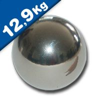 Magnetic Ball, Sphere Magnet - Ø 30mm, Neodymium N40, Chrome - Force: 12,9 kg