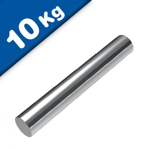 Stabmagnet Magnet-Stab Ø 15 x 100 mm Neodym N40 (NdFeB) Nickel - Haftkraft 10 kg