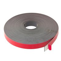 Self Adhesive Magnetic Tape, with foam adhesive, Typ B 1,5mm x 25,4mm x 30m