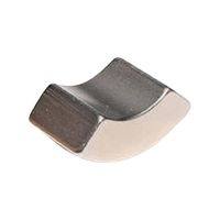 Arc Segment Magnet 15 x 20 mm Neodymium N35 (NdFeB), Nickel - Rare Earth Magnets