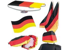 Set di articoli per fan della Germania, ideale per eventi sportivi