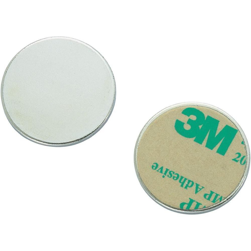Metal disk galvanized double-sided adhesive tape Ø 10mm x 2mm