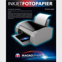 "Matte Magnetic Photo Paper for Inkjet Printers, 650gm2, 11x17"", 10 Sheets"