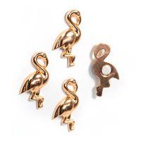 Aimants décoratifs FLAMANT magnetique, métal 18 x 31 x 4 mm - 4 pieces