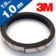 Neodymium Magnetic Tape with 3M adhesive 1mm x 10mm x 1m, high power 001