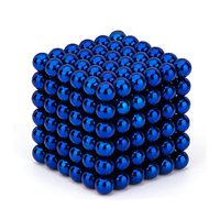Neocube Blue Ø 5mm Sphere magnets neodymium, 216 pieces per set