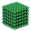 Neocube Green Ø 5mm Sphere magnets neodymium, 216 pieces per set 001