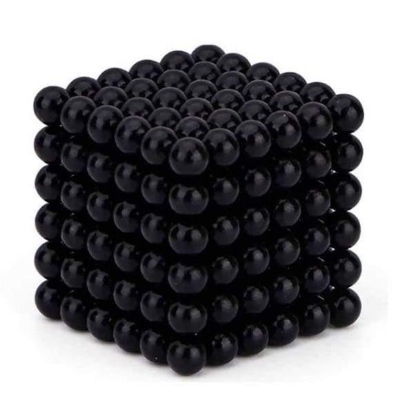 Neocube Nero Ø 5mm Sfere magnetiche al neodimio, 216 pezzi