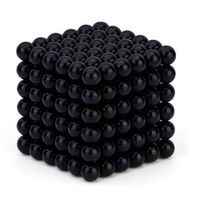 Neocube Black Ø 5mm Sphere magnets neodymium, 216 pieces per set