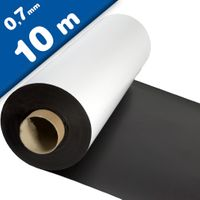 Matte White Vinyl Magnet Sheet 0,7mm x 1m x 10m