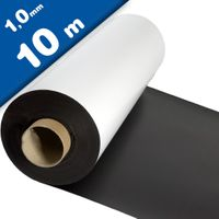 Matte White Vinyl Magnet Sheet 1mm x 1m x 10m - Flexible magnets