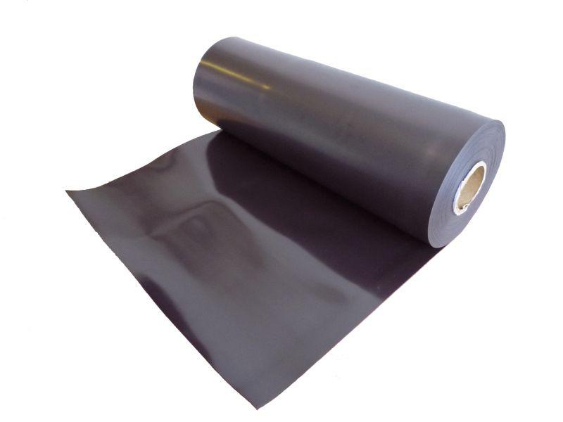 Caoutchouc aimanté brun 0,4mm x 31cm x  50cm