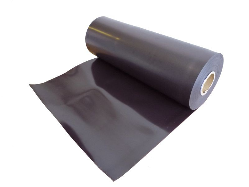 Plain magnetic sheet brown 0,9mm x 31cm x 100cm