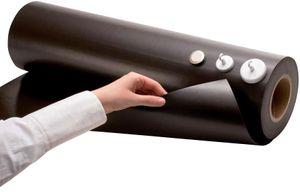 Fogli Metallici / Fogli Ferro Gomma crudo marrone 0,6mm x 31cm x 100cm