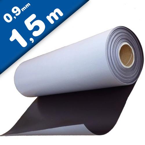 Foglio magnetico neutri con adesivo 0,9mm x 0,62m x 1,5m