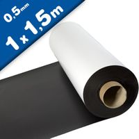 Matte White Vinyl Magnet Sheet 0,5mm x 1m x 1,5m