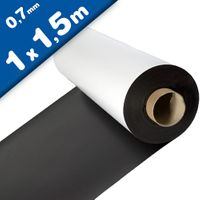Matte White Vinyl Magnet Sheet 0,7mm x 1m x 1,5m
