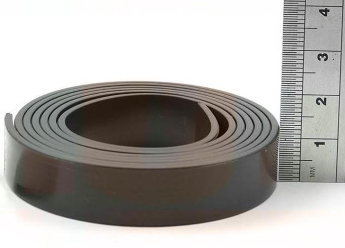Bande magn tique et autocollante 1 5mm x 12 7mm x 3m type - Bande magnetique autocollante ...