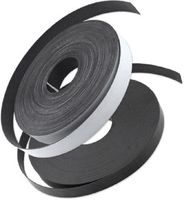 Self Adhesive Magnetic Strip Type A + B, 1,5 mm x (25,4mm + 12,7mm) x  5m