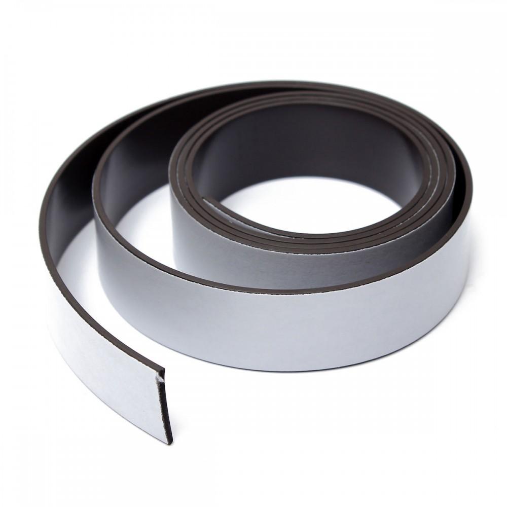bande magn tique autocollante type a b 1 5 mm x 25 4mm 12 7mm x 10m bande magn tiques. Black Bedroom Furniture Sets. Home Design Ideas
