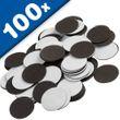 Calamite Pastiglie Adesive 1,2mm x Ø 27mm, 100 pezzi, forza 92 g/cm² 001