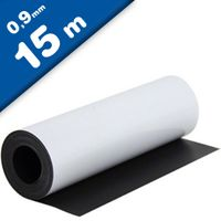 Matte White Vinyl Magnet Sheet 0,9mm x 0,62m x 15m