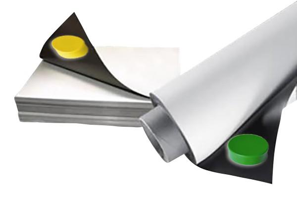 Ferrofolie/Eisenfolie selbstklebend für Magnete DIN A4 - Haftgrund für Magnete/Magnetpinnwand von Magnosphere, Eisenfolie weiß beschreibbar, Eisenfolie Ferrofolie weiß glänzend selbstklebend, Eisenfolie / Ferrofolie, Eisenfolie weiß glänzend, Eisenfolie Ferrofolie weiß glänzend beschreibbar, Selbstklebende Magnethaftgründe in Form von weiß glänzenden flexiblen Metallfolien bzw. Ferrofolien, Ferrofolie weiß glänzend, Ferrofolien und Eisenfolien mit einer PVC-Beschichtung weiß glänzend und laminiert, Eisenfolie -Ferrofolie selbstklebend weiß glänzend, ferrofolie selbstklebend meterware, ferrofolie selbstklebend farbig, ferrofolie baumarkt, ferrofolie beschreibbar, eisenfolie selbstklebend weiß, eisenfolie baumarkt, eisenfolie meterware, Ferrosheet, Whiteboard, Memoboard Folien, Magnetpinnwand, DIN A Formate