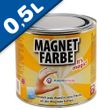 Magnetic Paint / Magnetic receptive wall paint -  500 ml Tin attracts magnets! 001