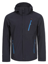 Icepeak 57922-544 Herren Softshell-Jacke SCOTT dunkel blau