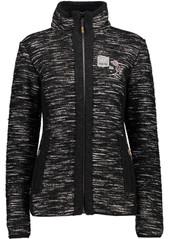 CMP 3M35376 Damen Strickfleece Jacke schwarz melange