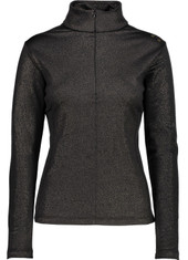 CMP 3E12476 Damen Skirolli WOMAN SWEAT schwarz/gold