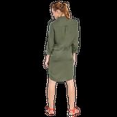Jack Wolfskin 1504851 Damen Kleid MOJAVE DRESS olive-grün – Bild 3