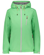 CMP 3Z58466 Damen Funktionsjacke WOMAN FIX HOOD JACKET green-tea