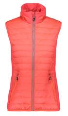 CMP 38Z5416 Damen Primaloft-Weste WOMAN VEST coral/pink