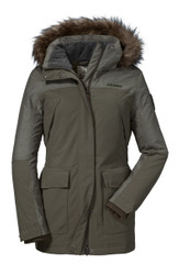 Schöffel 12130-23148 Damen Mantel INSULATED JACKET TINGRI1 sea turtle