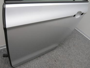 510833055N Original Tür hinten links Fahrerseite VW Golf Sportsvan silber – Bild 2